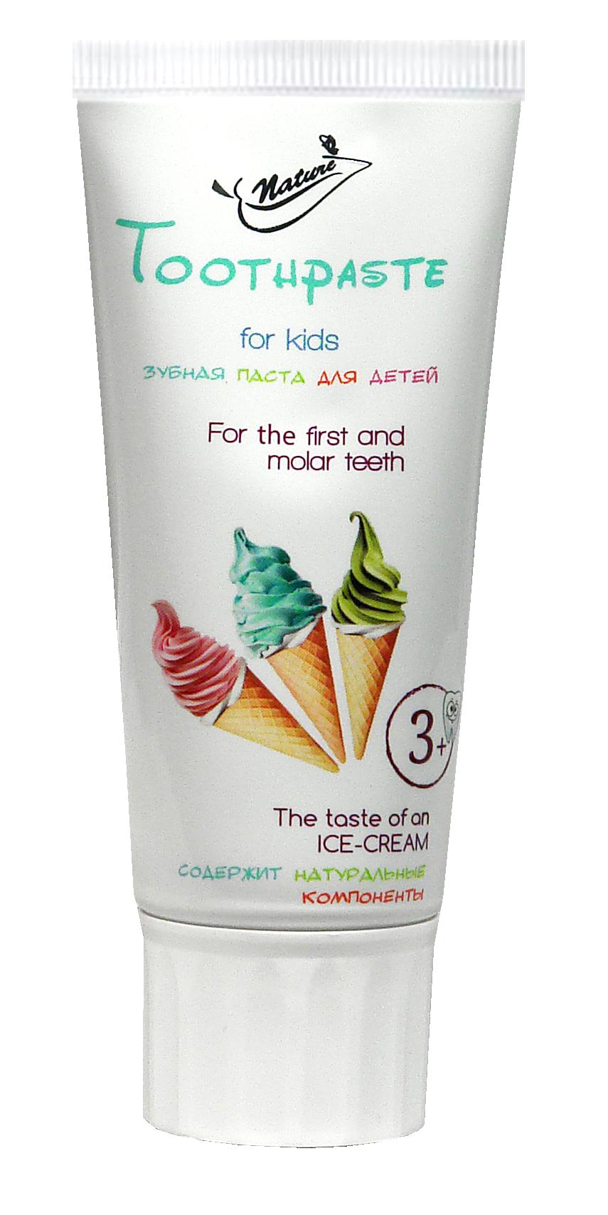 Детская зубная паста Ice-CreamТМ Nature 50 мл