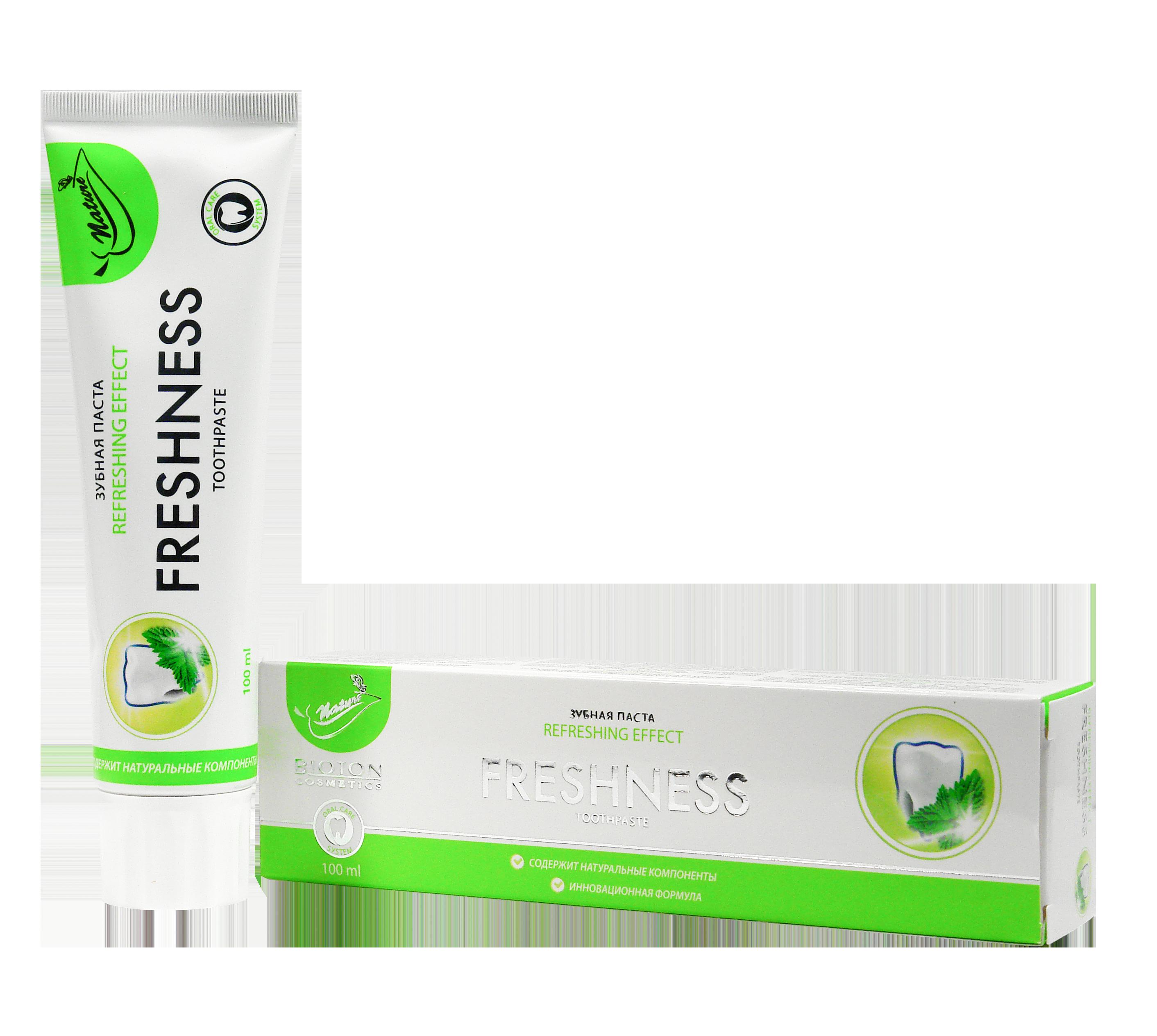 Зубная паста Freshness ТМ Nature 100 мл